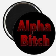 Alpha Bitch button Magnets