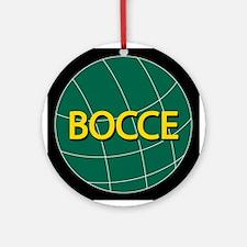 Green Bocce Ball Ornament
