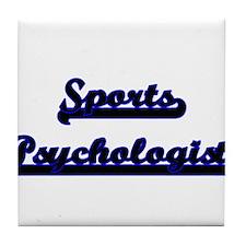 Sports Psychologist Classic Job Desig Tile Coaster