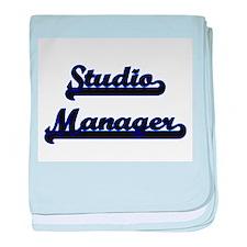 Studio Manager Classic Job Design baby blanket