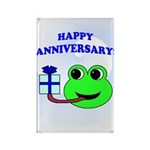 HAPPY/HOPPY ANNIVERSARY Rectangle Magnet (10 pack)