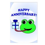 HAPPY/HOPPY ANNIVERSARY Postcards (Package of 8)