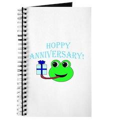 HAPPY/HOPPY ANNIVERSARY Journal