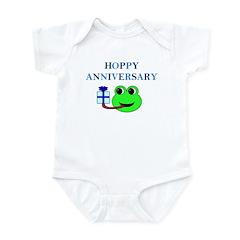 HAPPY/HOPPY ANNIVERSARY Infant Bodysuit