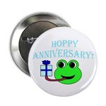 HAPPY/HOPPY ANNIVERSARY Button