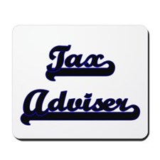 Tax Adviser Classic Job Design Mousepad