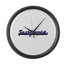 Taxidermist Classic Job Design Large Wall Clock