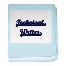 Technical Writer Classic Job Design baby blanket
