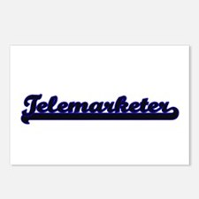 Telemarketer Classic Job Postcards (Package of 8)