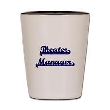 Theater Manager Classic Job Design Shot Glass