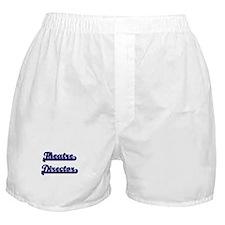 Theatre Director Classic Job Design Boxer Shorts