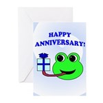 HAPPY ANNIVERSARY Greeting Cards (Pk of 10)