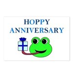 HOPPY ANNIVERSARY Postcards (Package of 8)