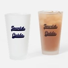 Tourist Guide Classic Job Design Drinking Glass