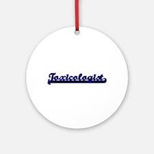 Toxicologist Classic Job Design Ornament (Round)