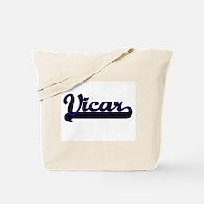 Vicar Classic Job Design Tote Bag