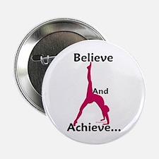 Gymnastics Button - Believe