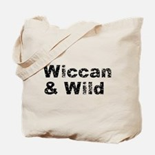 Wiccan and Wild Tote Bag