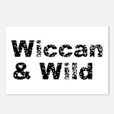 Wiccan and Wild Postcards (Package of 8)