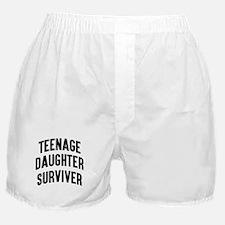 Teenage Daughter Surviver Boxer Shorts