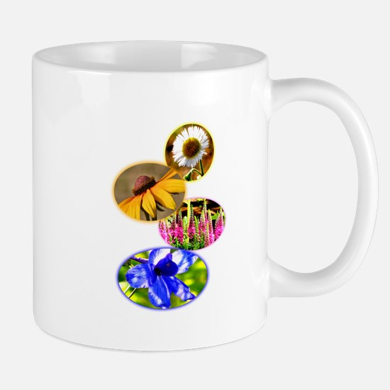 Flower montage Mugs