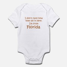 From Florida Infant Bodysuit