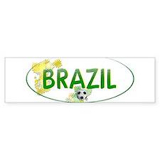 brazil-nb Bumper Bumper Sticker