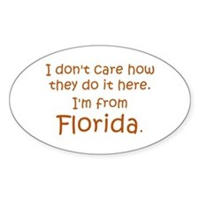 From Florida Decal
