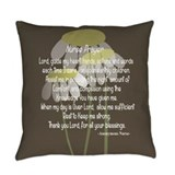 Nurses prayer Burlap Pillows