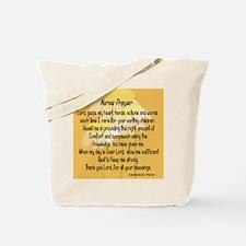 Nurse Prayer Tote Bag