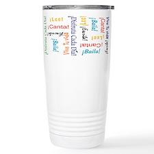 Unique Spanish Travel Mug