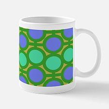 Crazy Shades of Green Eyelets Mugs