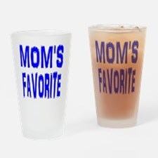 MOM'S FAVORITE Drinking Glass