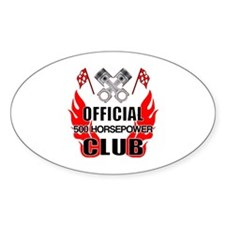 Official 500 HP Club Decal