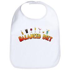Balanced Diet Bib