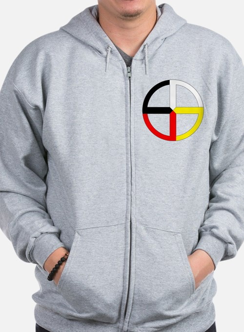 Cute Native Zip Hoodie