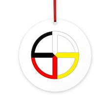 Cute Native pride Round Ornament