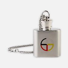 Medicine Wheel Flask Necklace