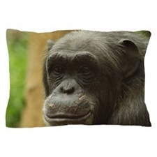 Grinning Chimp Pillow Case