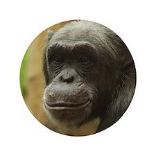 Grinning Chimp Button