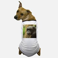 Grinning Chimp Dog T-Shirt