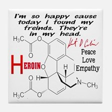Kc Heroin Tile Coaster