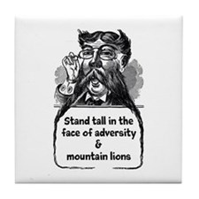 Stand Tall Tile Coaster