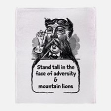 Stand Tall Throw Blanket