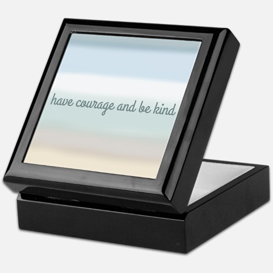 Cool Courage Keepsake Box