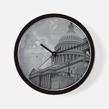 Liberty's Score Wall Clock