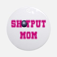 Shotput Mom Ornament (Round)