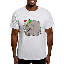 Elephant Bird Pals T-Shirt