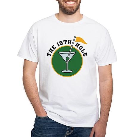 19th Hole golf White T-Shirt