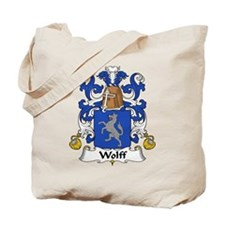 Wolff Family Crest  Tote Bag